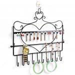 SUMERSHA Présentoir à Bijoux Porte-bijoux en Métal Forme de Coeur pour Boucle d'Oreille Bracelet collier de la marque SUMERSHA image 3 produit