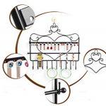 SUMERSHA Présentoir à Bijoux Porte-bijoux en Métal Forme de Coeur pour Boucle d'Oreille Bracelet collier de la marque SUMERSHA image 4 produit