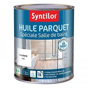 Syntilor - Huile Parquet Spéciale Salle de Bains Incolore 1L de la marque Syntilor image 0 produit