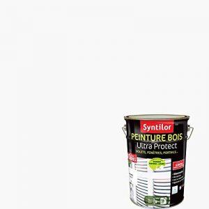 Syntilor - Peinture Bois Ultra Protect Blanc Satiné RAL 9016 5L de la marque Syntilor image 0 produit