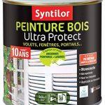 Syntilor - Peinture Bois Ultra Protect Noir Satiné RAL 9005 0,5L de la marque Syntilor image 1 produit