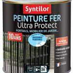 Syntilor - Peinture Fer Ultra Protect Noir Mat RAL 9005 0,5L de la marque Syntilor image 1 produit