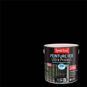 Syntilor - Peinture Fer Ultra Protect Noir Satiné RAL 9005 1,5L de la marque Syntilor image 0 produit