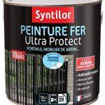 Syntilor - Peinture Fer Ultra Protect Noir Satiné RAL 9005 1,5L de la marque Syntilor image 1 produit