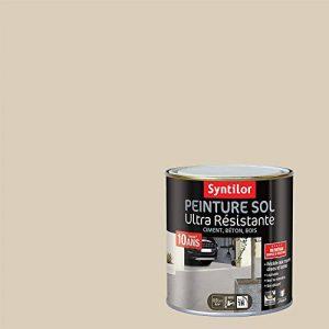 Syntilor - Peinture Sol Ultra Résistante Grès Satiné 0,5L de la marque Syntilor image 0 produit