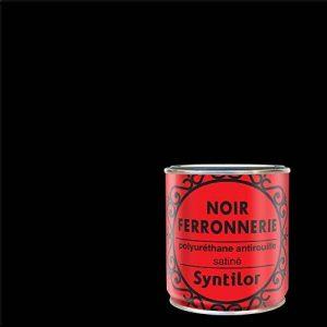 Syntilor - Peintures Ferronnerie Noir Satiné 0,375L de la marque Syntilor image 0 produit
