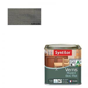 Syntilor - Vernis Aspect Bois Anthracite Mat 0,75L de la marque Syntilor image 0 produit