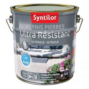 Syntilor - Vernis Pierres Ultra Résistant 6 Ans Incolore Satiné 2,5L de la marque Syntilor image 0 produit