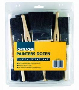 T-Class Lot de 12 brosses à peinture pour bâtiment de la marque T-Class image 0 produit