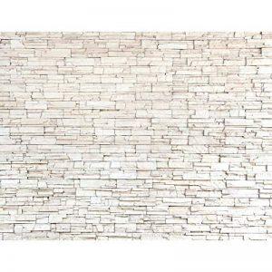 Tapisserie Photo Mur de pierre 396 x 280 cm Laine papier peint Salon Chambre Bureau Couloir décoration Peinture murale décor mural moderne - 100% FABRIQUÉ EN ALLEMAGNE - 9019012c de la marque Images et Papier peint Runa image 0 produit