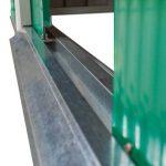 TecTake Abri de Jardin en métal cabane à Outils Rangement | + Fondation | diverses Couleurs au Choix et modèles (Type 2 | Verde | no. 402183) de la marque TecTake image 3 produit