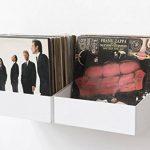 Teebooks Rangement pour Vinyle Lot de 2, Acier, Blanc, 15 x 25 x 32 cm de la marque TEEbooks image 4 produit