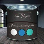 The Flynn Peinture pour piscine auserlesene bleu blanc vert mer gris gris anthracite revêtement de piscine béton peinture pour bassin, gris de la marque The Flynn image 1 produit