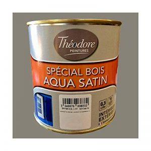 Théodore Peintures Spécial Bois Aqua satin Poivre gris de la marque Théodore Batiment image 0 produit