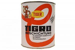 Tigro Liquide en plastique Tigro gris moyen 63 satiné 1 l de la marque TIGER Coatings GmbH & Co. KG image 0 produit