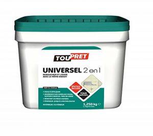 Toupret 310020 Enduit universel 2 en 1 pâte Pack de 1,2 kg de la marque Toupret image 0 produit