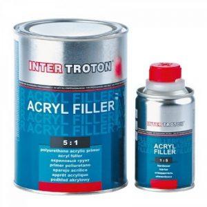 Troton Inter Acrylique Base HS 2K 5:1-0.8 L Gris + Durcisseur 0,16 l de la marque Troton image 0 produit