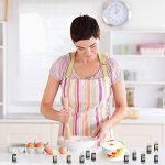 Ttdm Colorant Alimentaire Nourriture Dye Flo Nourriture Brosse à air Liquide concentré–12Couleurs avec Super Grande contenance de la marque Ttdm image 2 produit