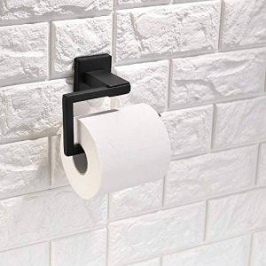 TURS Support de papier hygiénique porte-rouleau papier mouchoir en acier inox SUS 304 support mural, noir mat, Q6002BK de la marque TURS image 0 produit