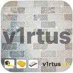 v1rtus - Additif paillettes pour joint en résine époxy/ciment - cuisine/salle de bains - facile d'utilisation/résiste à la chaleur/ne s'oxyde pas - couleurs résistantes - argenté holographique - 100 g de la marque V1RTUS image 2 produit