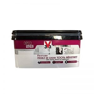 V33 Déco LAB Peinture Meuble de cuisine 100% Résistant Blanc de la marque V33 image 0 produit