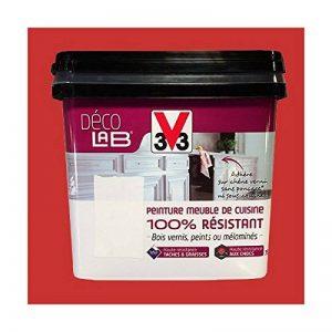V33 Déco LAB Peinture Meuble de cuisine 100% Résistant Rouge piment de la marque V33 image 0 produit