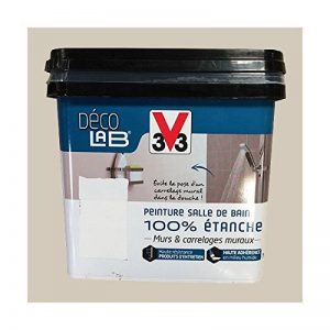V33 Déco LAB Peinture Salle de bain 100% Etanche Beige nature de la marque V33 image 0 produit