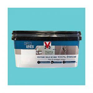 V33 Déco LAB Peinture Salle de bain 100% Etanche Bleu d'été de la marque V33 image 0 produit