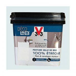 V33 Déco LAB Peinture Salle de bain 100% Etanche Galet de la marque V8 image 0 produit