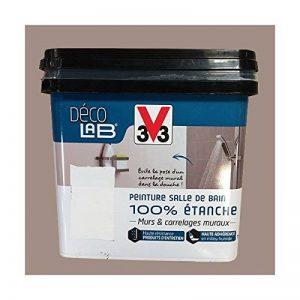 V33 Déco LAB Peinture Salle de bain 100% Etanche Humus de la marque V33 image 0 produit