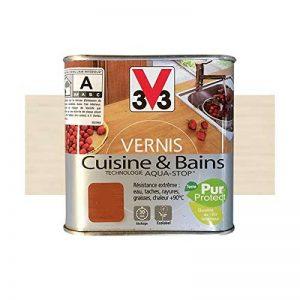 V33 Vernis Cuisine et Bains Blanc crémeux Satin de la marque V33 image 0 produit