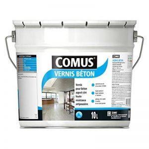 Vernis Beton 10L - Vernis Polyuréthane Acrylique pour les sols et Murs en Béton ou Dérivés Ciment de la marque Comus image 0 produit