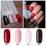 Vernis Gel Semi Permanent UV LED - Gellen Vernis à Ongles Nail Gel Soak off Manucure Salon Kit 4×8ml #10 de la marque Gellen image 1 produit