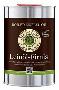 Vernis à l'huile de lin OLI-NATURA, protection biologique du bois, 1 litre, incolore - naturel de la marque OLI NATURA Öle & Wachse image 0 produit