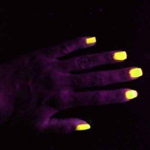 Vernis UV ultra violet fluorescents - JAUNE - 15ml de la marque Janet image 0 produit