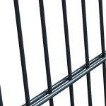 vidaXL Portillon Acier anthracite 106x250 cm Portail porte de clôture de jardin de la marque vidaXL image 4 produit