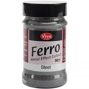 Viva Decor Ferro Effet métal texturé Peinture 3oz-Steel, d'autres, Multicolore de la marque Viva-Decor image 0 produit