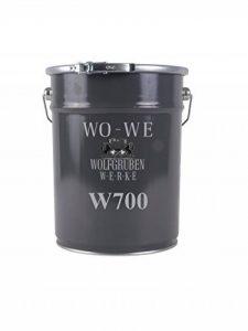 W700 Peinture Beton Sol Ciment - Noire Fonce 10L de la marque Wowe image 0 produit