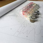 WACYDSD Peinture par Numéros Énorme Piscine Privée Bricolage Cadeau Unique Peint À La Main Peinture À l'huile pour La Maison Décoration Murale Oeuvres sans Cadre de la marque WACYDSD image 2 produit
