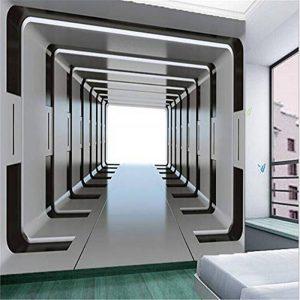 Wemall Mur de papier peint 3D personnalisé n'importe quelle taille de fond photographie Étendre le canal de l'espace Mur de salle de bains Peinture pour décor de salon, 430x300 cm de la marque Wemall image 0 produit