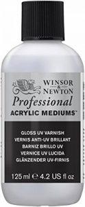 Winsor & Newton Pam UV Vernis Brillant 125ml de la marque Winsor-Newton image 0 produit