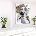 Yeshi Lot de 3pcs coloré salle de dessin Fille de peinture murale Tableau Déco Home Decor 35x70cm de la marque Yeshi image 3 produit