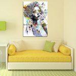 Yeshi Lot de 3pcs coloré salle de dessin Fille de peinture murale Tableau Déco Home Decor 35x70cm de la marque Yeshi image 4 produit