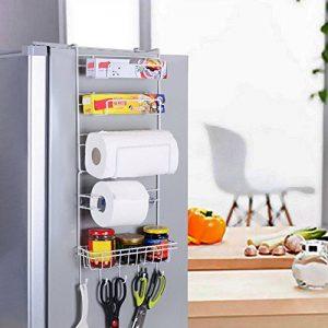 Yontree Étagère à suspendre pour réfrigérateur avec Ventouses Étagère à Epices Rangement Cuisine de la marque Yontree image 0 produit
