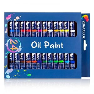 Zenacolor Ensemble de 24 Tubes de Peinture à l'Huile Pack de 24 x 12mL de la marque Zenacolor image 0 produit