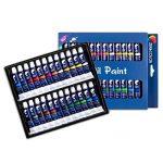 Zenacolor Ensemble de 24 Tubes de Peinture à l'Huile Pack de 24 x 12mL de la marque Zenacolor image 1 produit