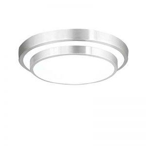 ZHMA 18W Plafonnier LED, 6000K Blanc, 1440 LM, Lampe de Plafond Imperméable IP44, Luminaire Intérieur, Eclairage Rond, Parfait pour Plafond de Salle de Bain, Cuisine, Couloir, Salon, 220V de la marque ZHMA image 0 produit